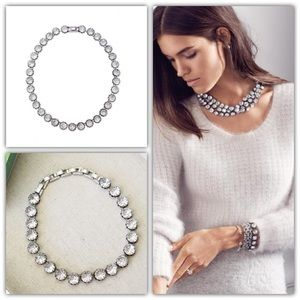 Stella & Dot Vintage Crystal Necklace